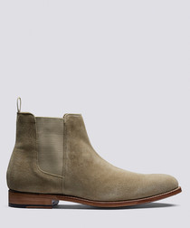 Declan maple suede chelsea boots