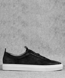 Sneaker 1 black suede sneakers
