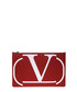 Go Logo red leather clutch Sale - valentino garavani Sale