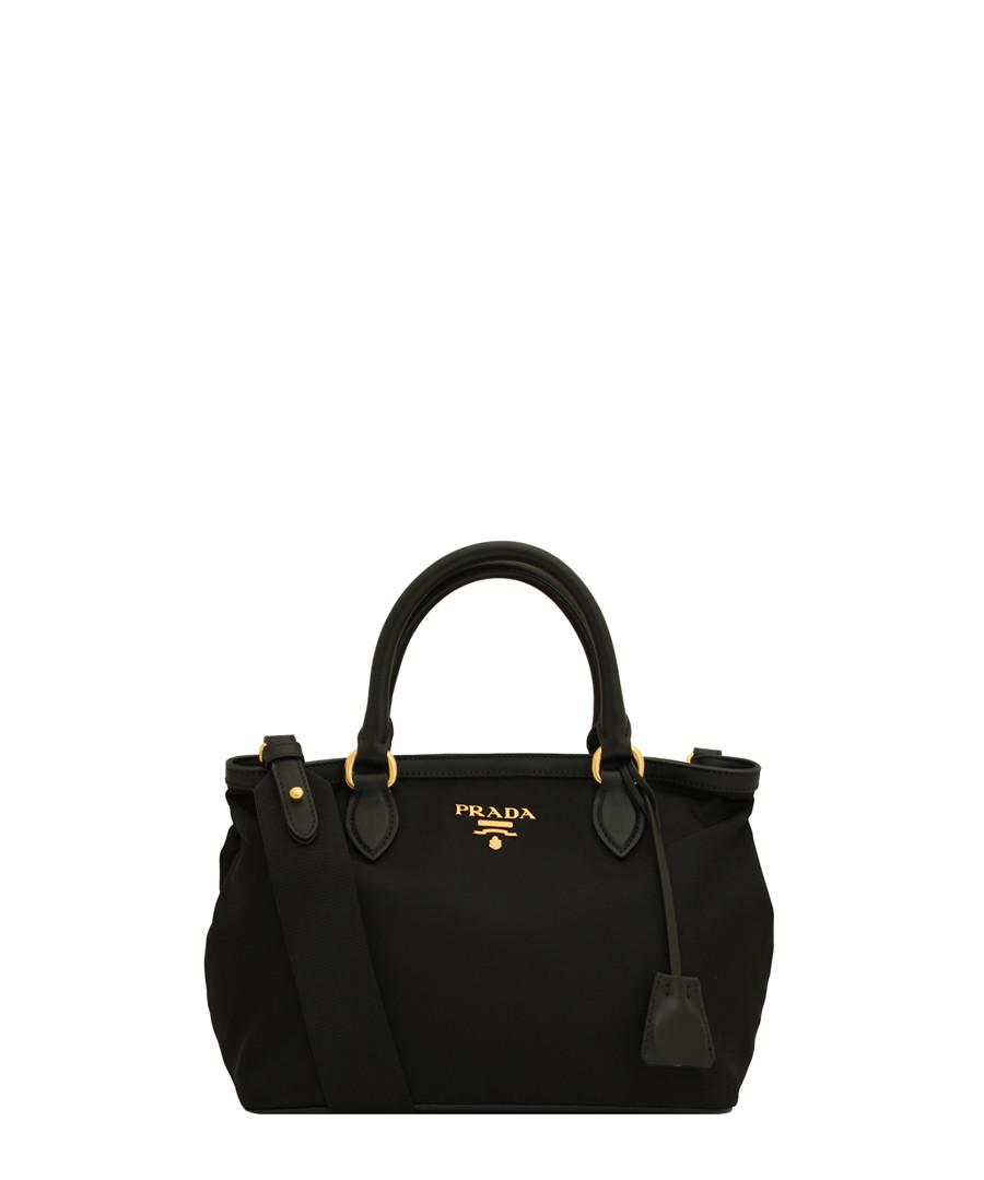 Tessuto black nylon & leather bag Sale - prada