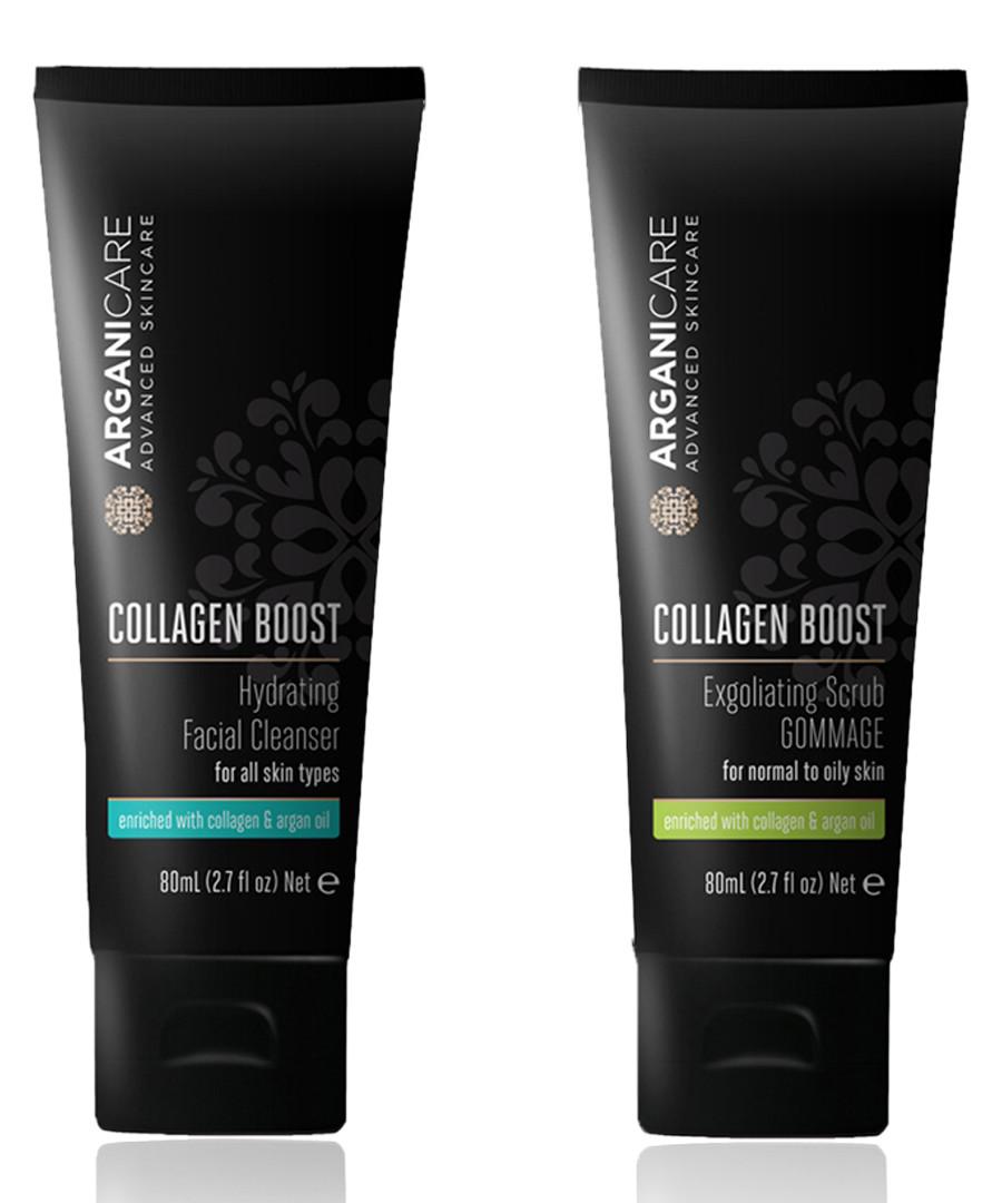 2pc Exfoliator & facial cleanser set Sale - arganicare