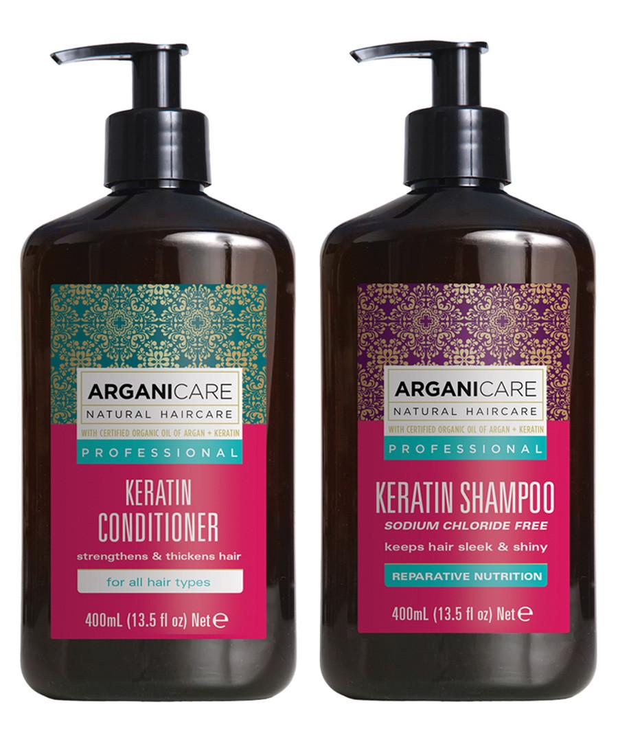 2pc Keratin shampoo & conditioner set Sale - arganicare