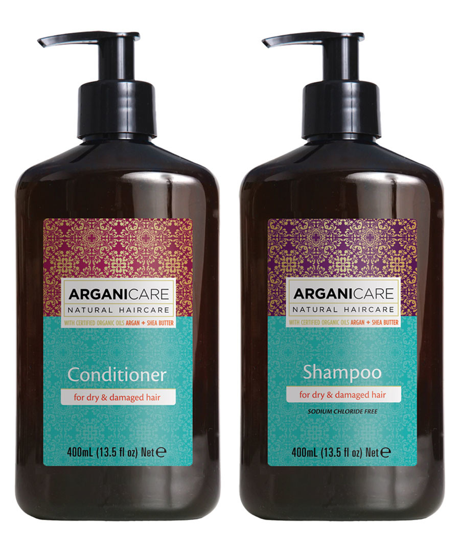 2pc Nourishing shampoo & conditioner set Sale - arganicare