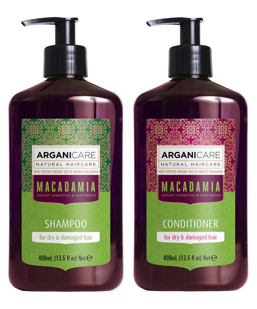 2pc Macadamia shampoo & conditioner set Sale - arganicare