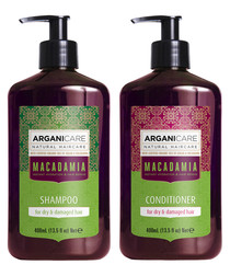 2pc Macadamia shampoo & conditioner set