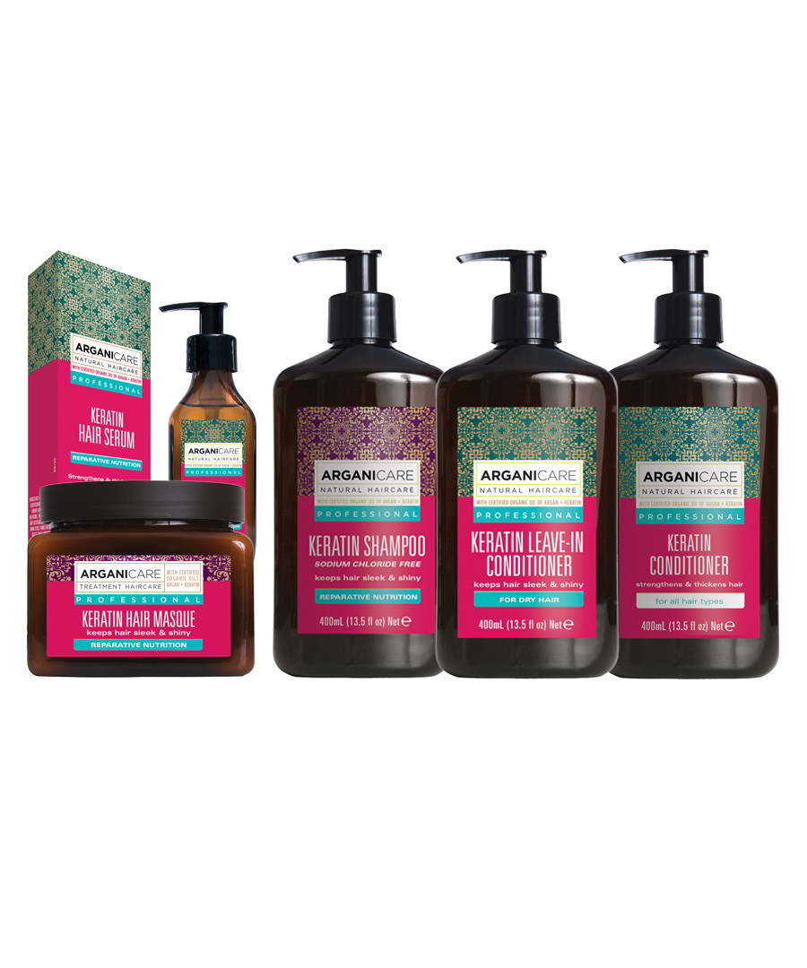 5pc Keratin hair treatment set Sale - arganicare