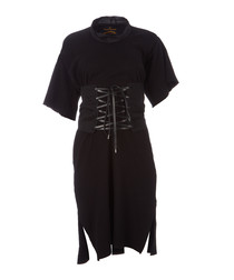Boxer black pure cotton corset dress