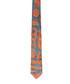 Apricot & aqua tile pure silk tie Sale - VIVIENNE WESTWOOD Sale