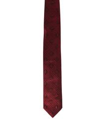 Bordeaux pure silk squares tie
