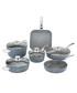 10pc aluminium metal handle pan set Sale - bisetti Sale