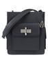 The James black leather shoulder bag Sale - Amanda Wakeley Sale