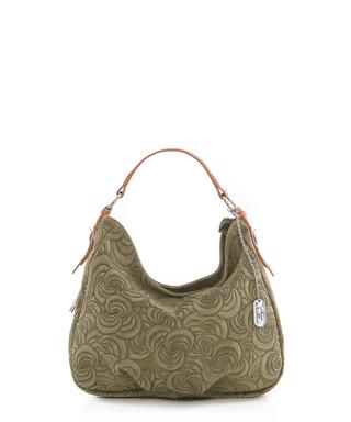 bb0f25cb1cd9 anna morellini. Roxi sage leather shoulder bag