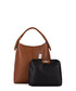 Callida II brown leather shoulder bag Sale - anna morellini Sale