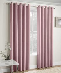 2pc Vogue blush curtains 168 x 137cm