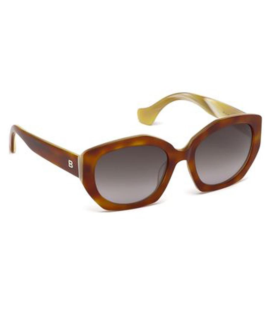 Havana rounded sunglasses Sale - balenciaga