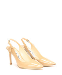 Erin 85 nude slingback court heels