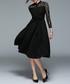 black button detail dress Sale - yisq Sale
