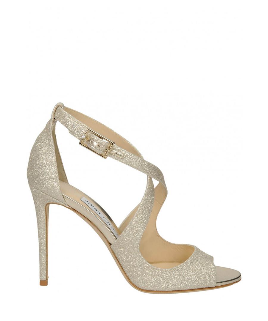 Emily platinum ice heeled sandals Sale - jimmy choo