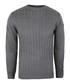 Grey cable knit crew jumper Sale - putney bridge Sale