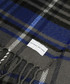 Blue & grey check scarf Sale - putney bridge Sale