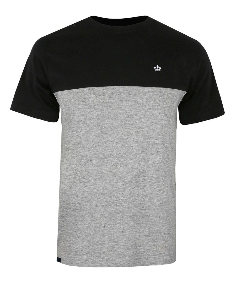 Black & grey cotton T-shirt Sale - putney bridge
