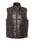 walnut sheepskin padded gilet Sale - woodland leather Sale