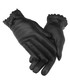 women's black leather bow gloves Sale - woodland leather Sale