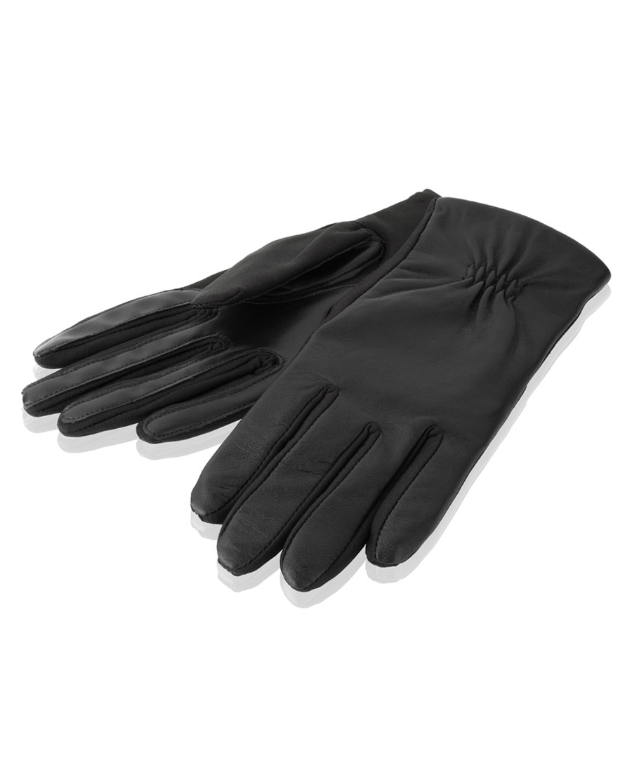 women's black leather gloves Sale - woodland leather