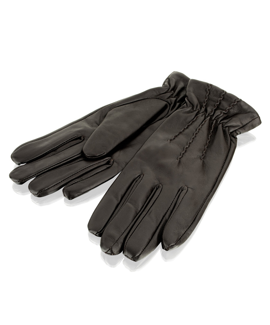 women's brown leather gloves Sale - woodland leather