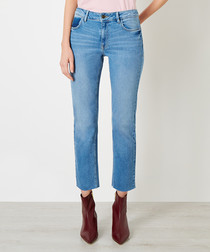 Radclyff light blue cotton slim jeans