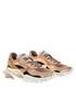 bounce gold-tone leather mix sneakers Sale - valentino garavani Sale