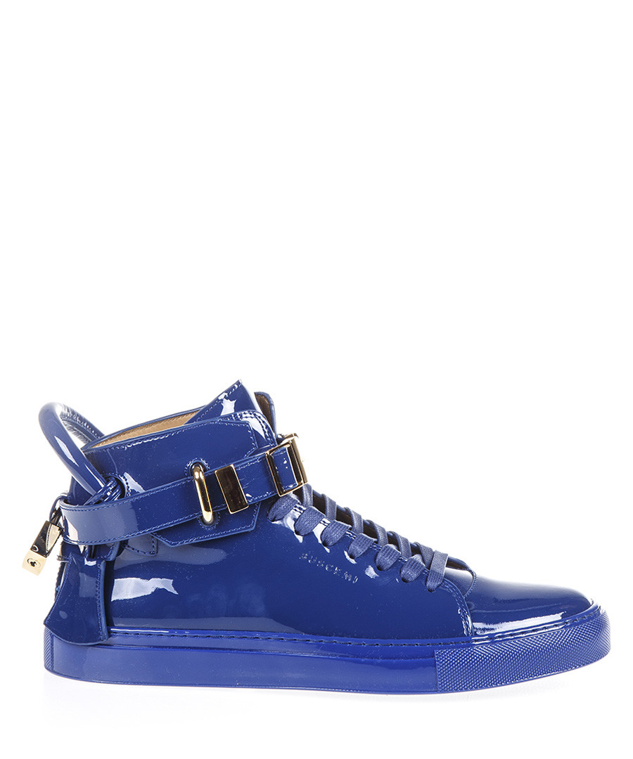 blue patent leather sneakers Sale - buscemi