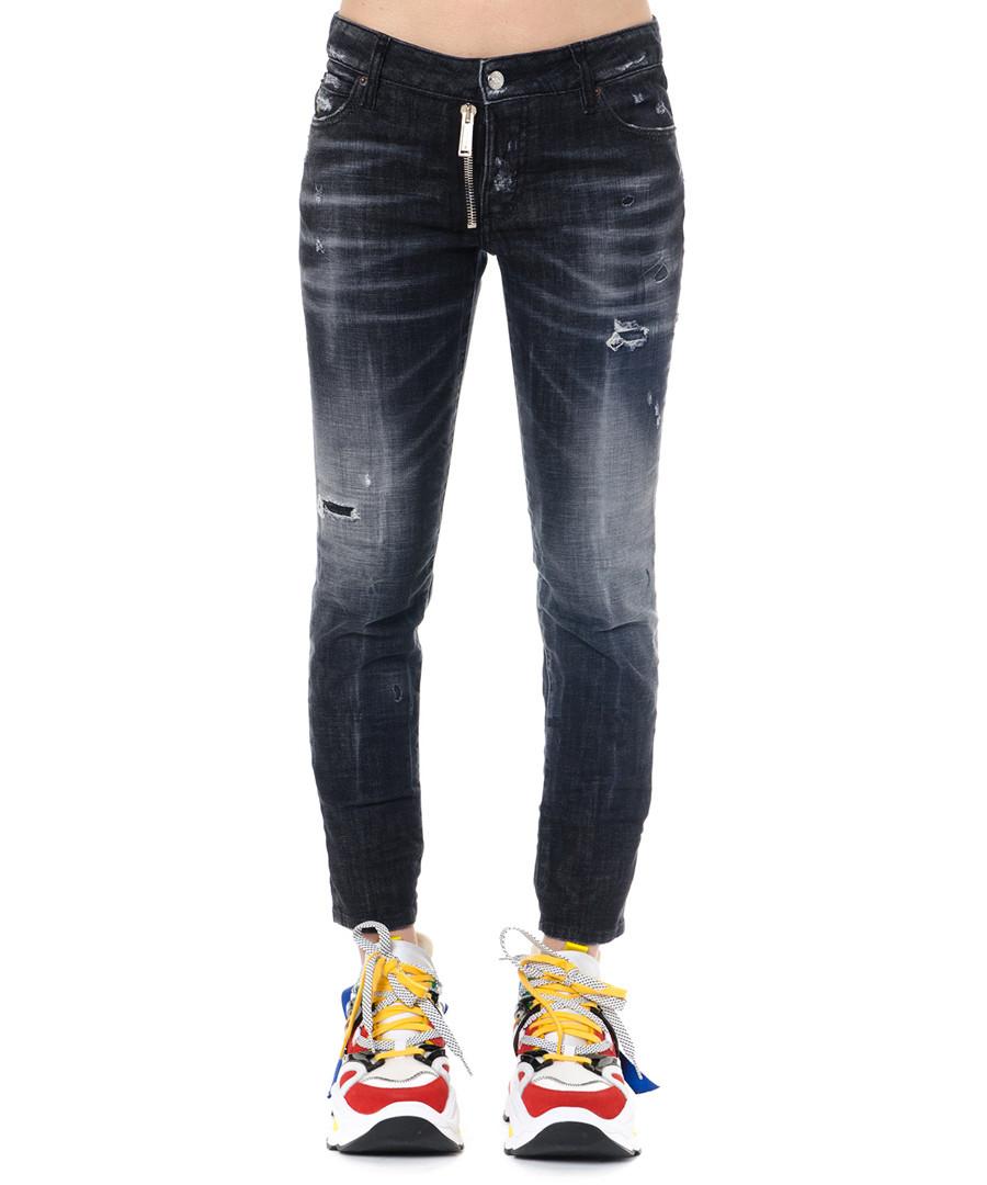 runway dark grey slim jeans Sale - dsquared2