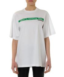 Mert & Marcus white pure cotton T-shirt