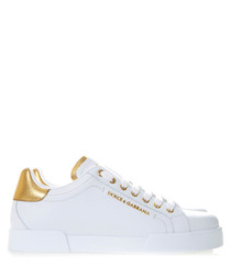 Portofino white leather sneakers