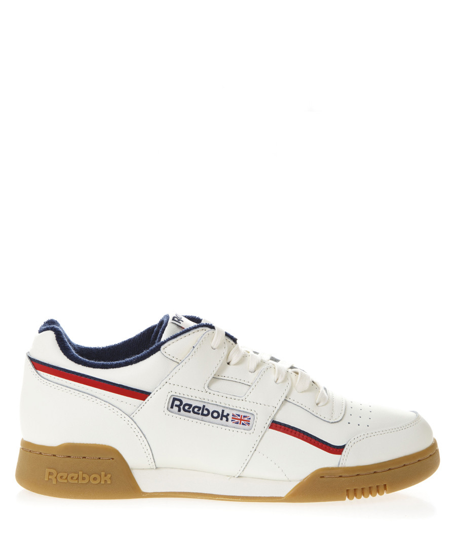 Workout chalk leather sneakers Sale - reebok
