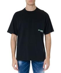 mert & marcus black pure cotton T-shirt