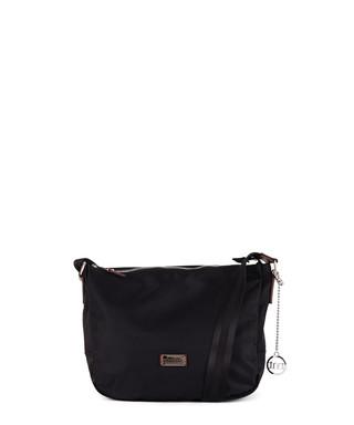 c594d88af25 Mezzanotte black nylon & leather messenger bag Sale - mia tomazzi Sale
