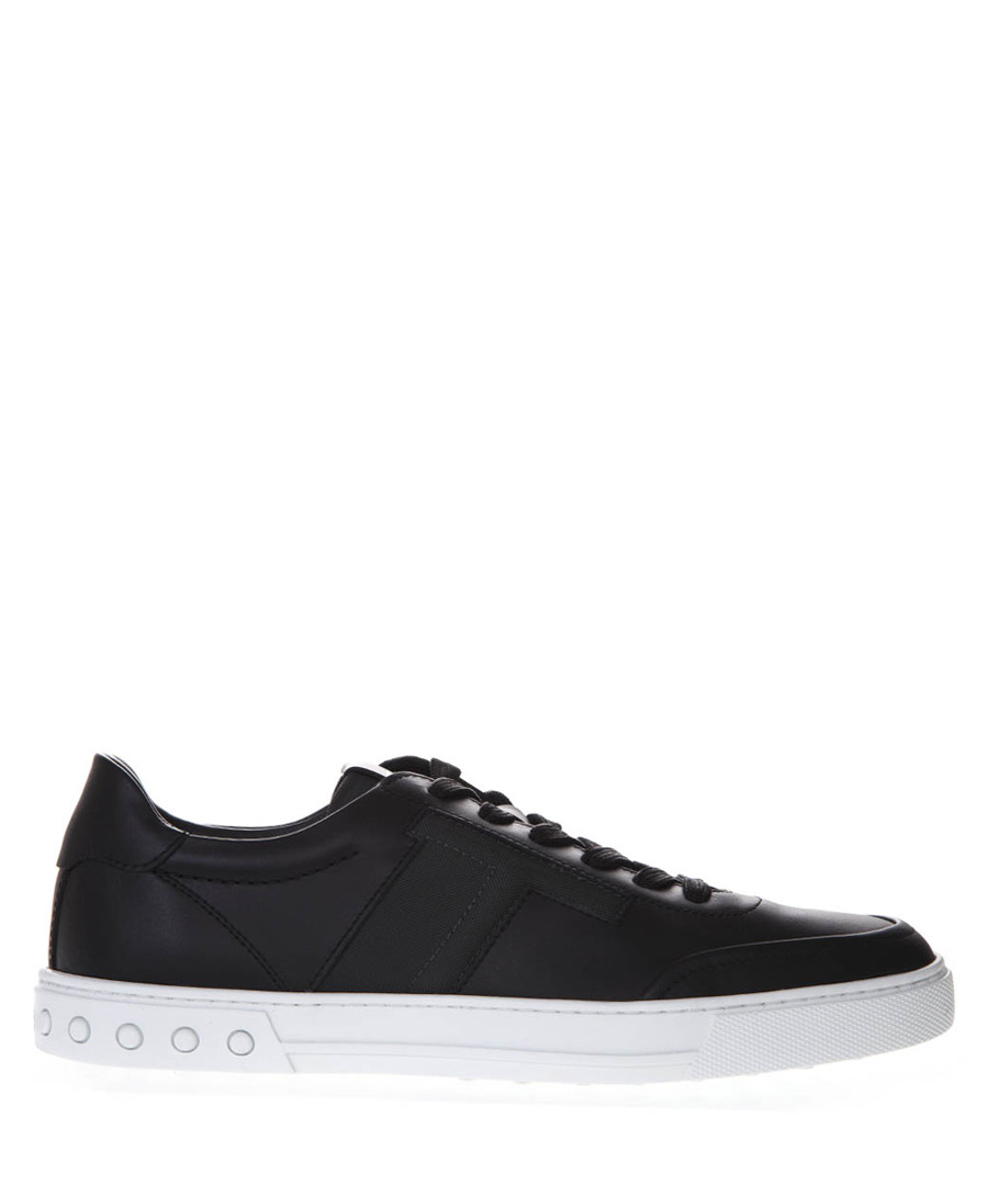 Black leather sneakers Sale - tod's