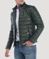 pine leather padded jacket Sale - Giorgio de mare Sale