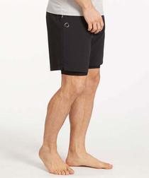 Eco Warrior 2 black eco shorts