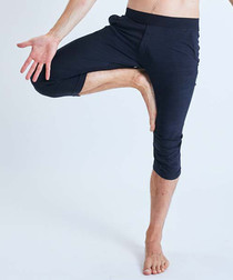 Namoustache midnight stretch trousers