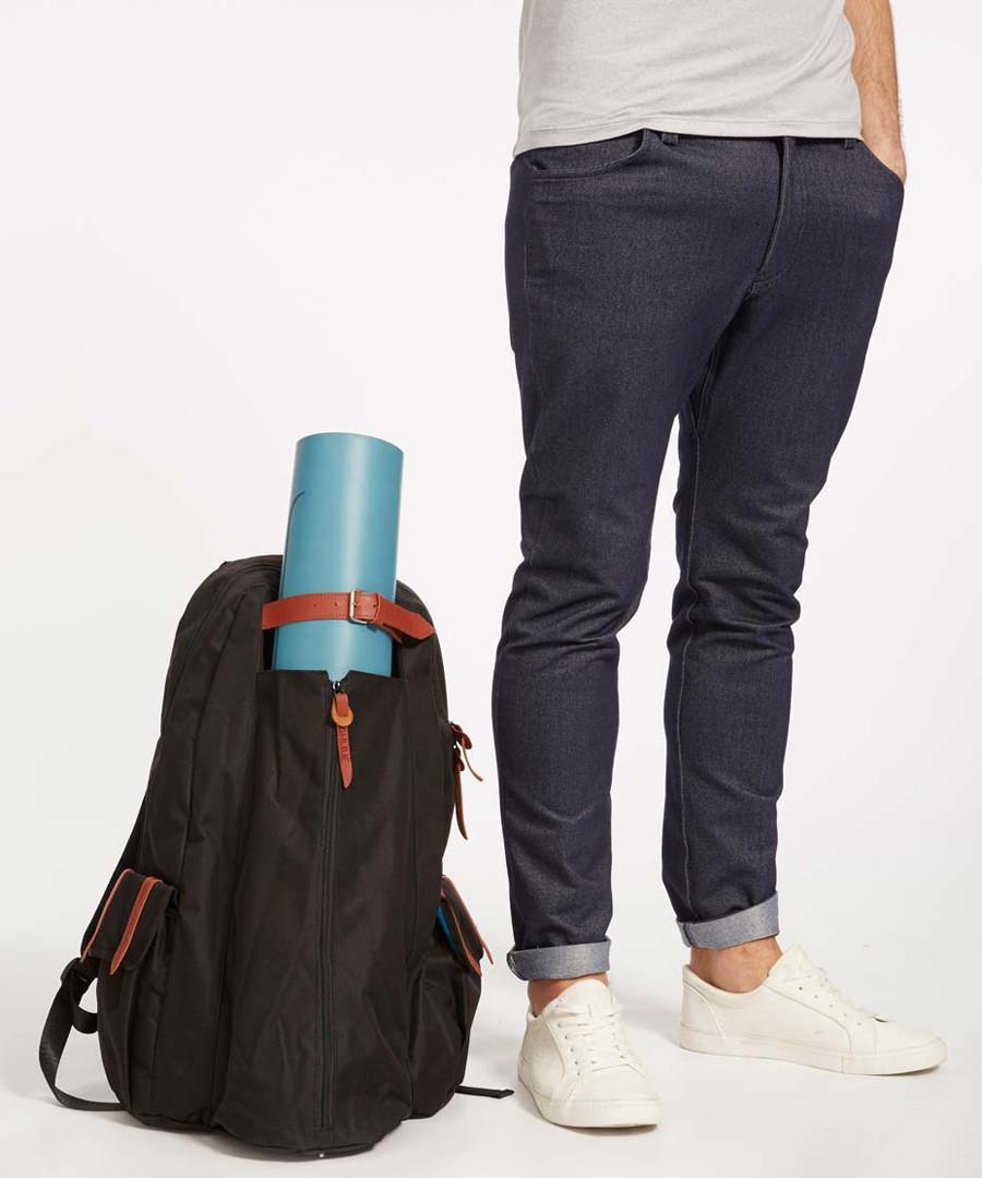 Itvara black yoga backpack Sale - ohmme