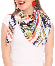 tutti frutti scarf 90 x 90cm