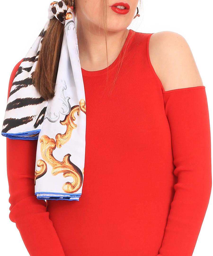 gold princess scarf 90 x 90cm Sale - alber zoran