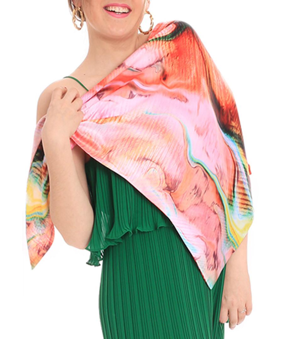 Coraline multi-colour print scarf Sale - alber zoran