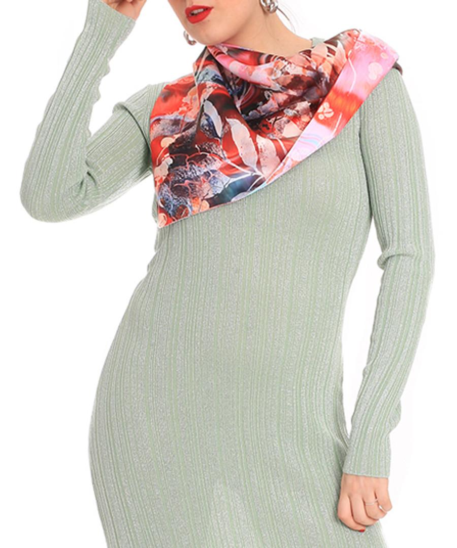 Coral bloom printed scarf Sale - alber zoran