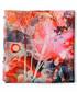 Coral bloom printed scarf Sale - alber zoran Sale