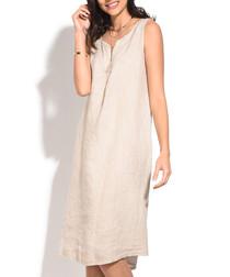 natural pure linen dress