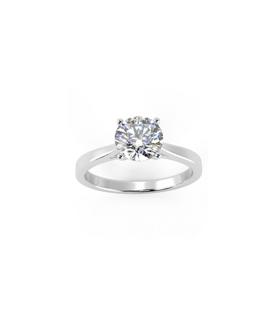 0.30ct VS1 diamond & 18k white gold ring Sale - Buy Fine Diamonds
